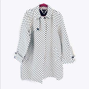 Tommy Hilfiger Polka Dots Trench Coat